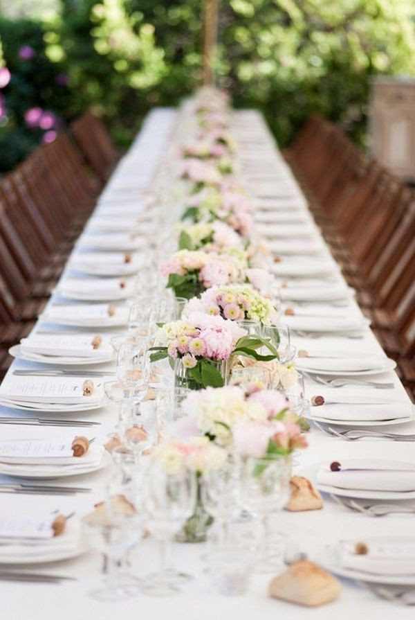 Wedding Table Decorations  Top 35 Summer Wedding Table Décor Ideas To Impress Your Guests