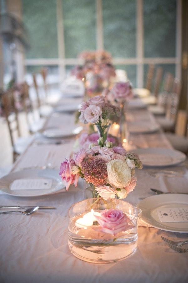 Wedding Table Decorations  50 Romantic Wedding Table Decorations ideas