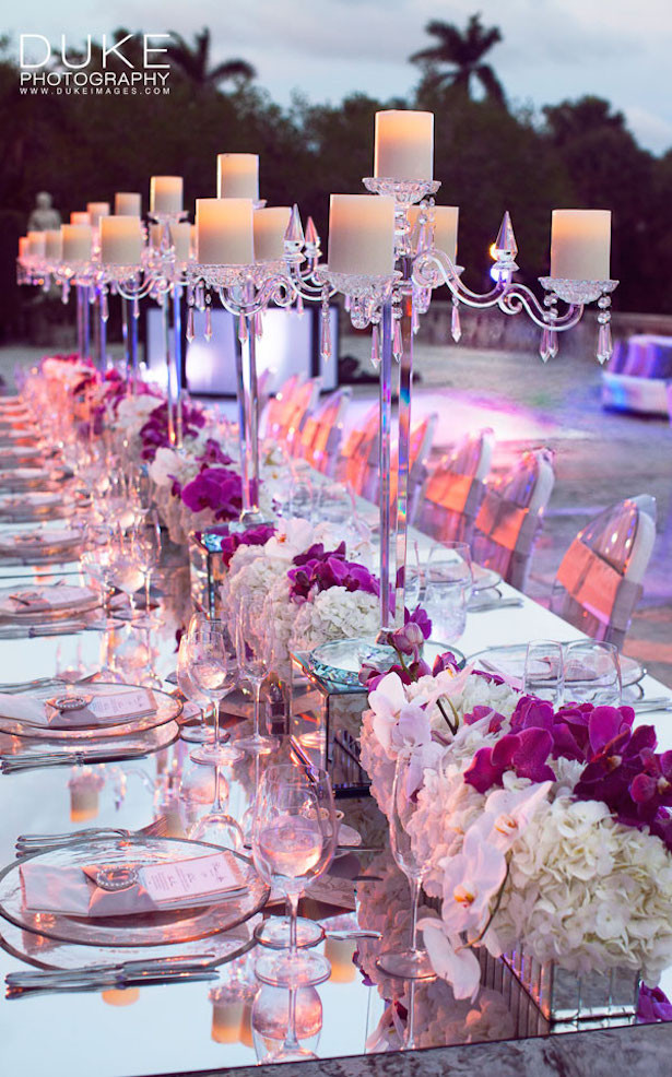 Wedding Table Decorations  Fabulous Long Wedding Tables Belle The Magazine