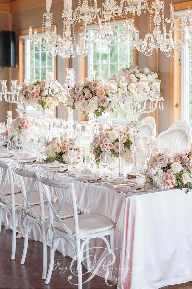 Wedding Table Decorations  Head Tables Wedding Decor Toronto Rachel A Clingen