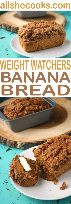 Weight Watchers Banana Recipes  Best Weight Watchers Banana Bread is a fast time saving