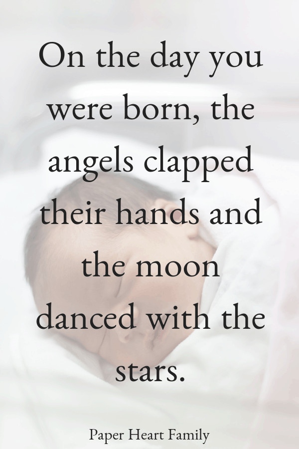 Welcome Quotes For New Born Baby Boy  When Baby Is Born Quotes For Your Baby s Big Arrival
