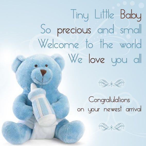 Welcome Quotes For New Born Baby Boy  Congratulation messages for a newborn baby are supposed to