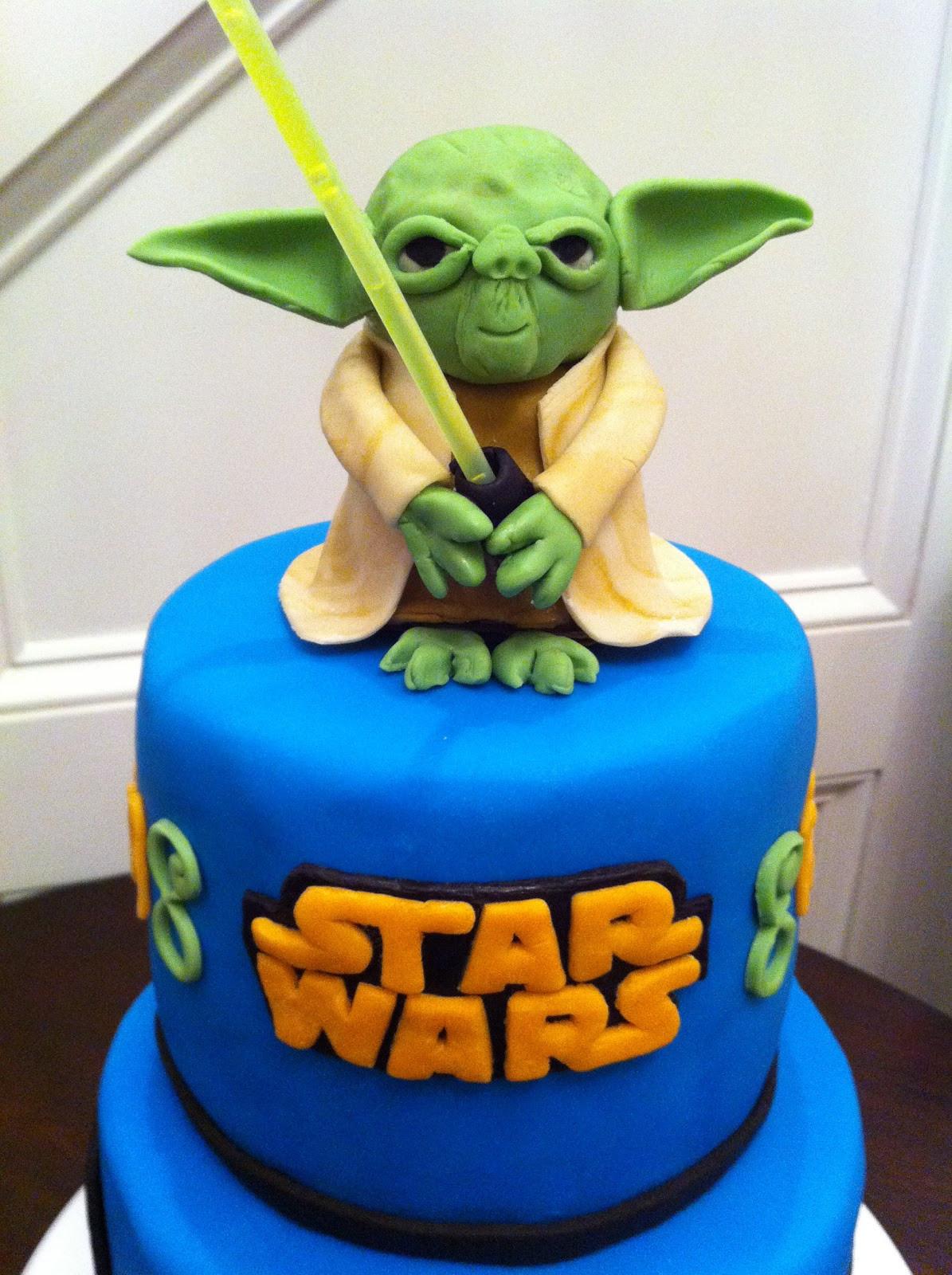 Yoda Birthday Cake  Yoda Cake