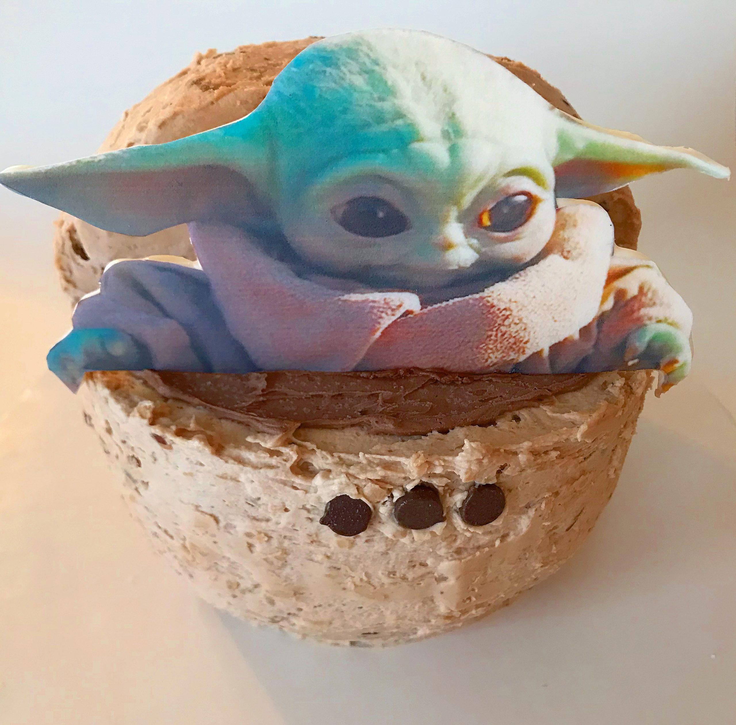 Yoda Birthday Cake  Baby Yoda Cake – The Cupcake Delivers