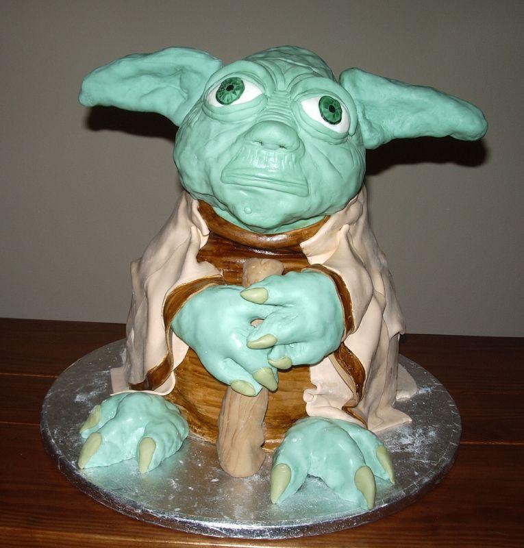 Yoda Birthday Cake  Yoda Cakes – Decoration Ideas