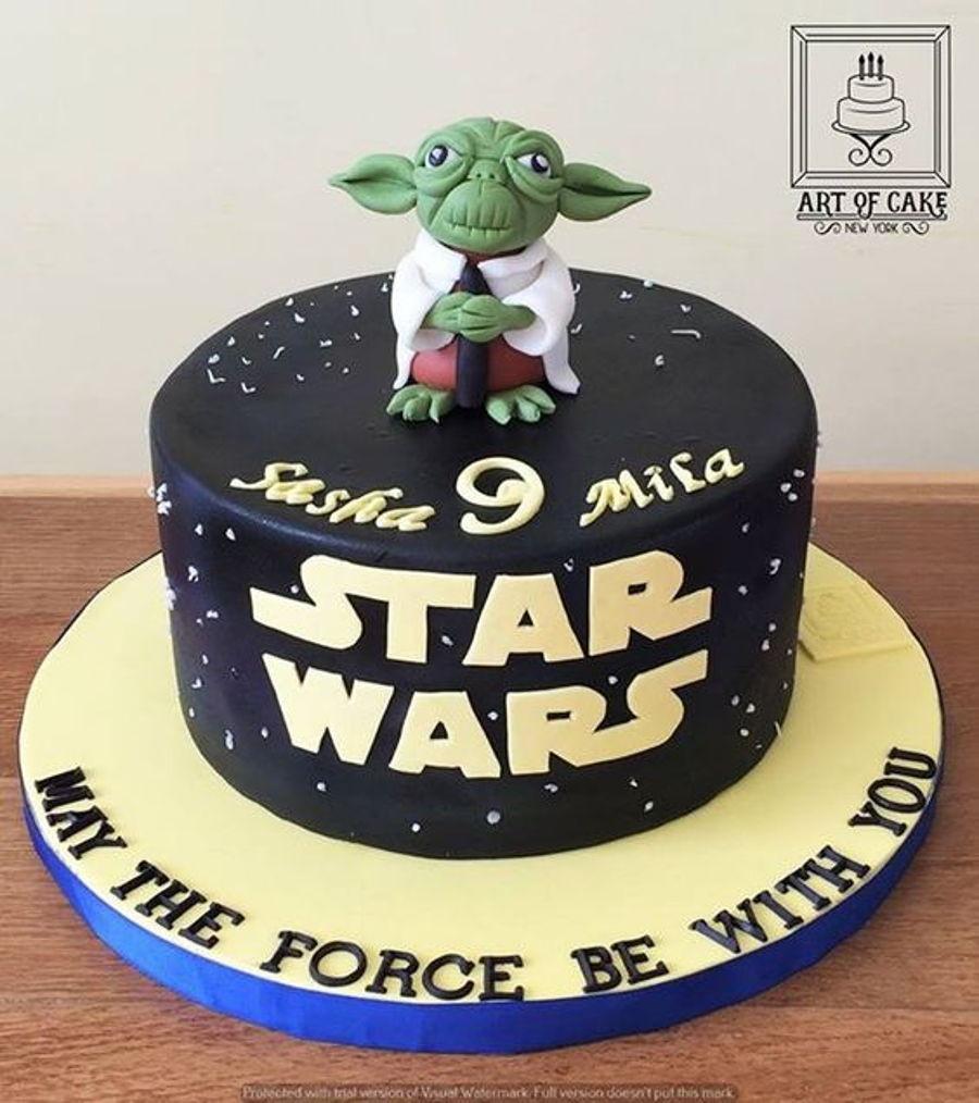 Yoda Birthday Cake  Starwars Yoda Cake CakeCentral