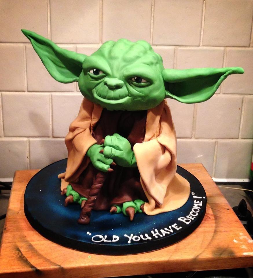 Yoda Birthday Cake  Yoda