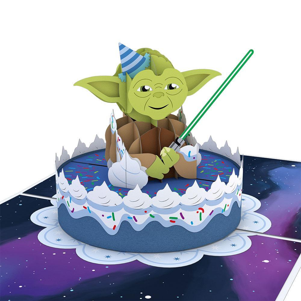 Yoda Birthday Cake  Yoda™ Birthday Lovepop