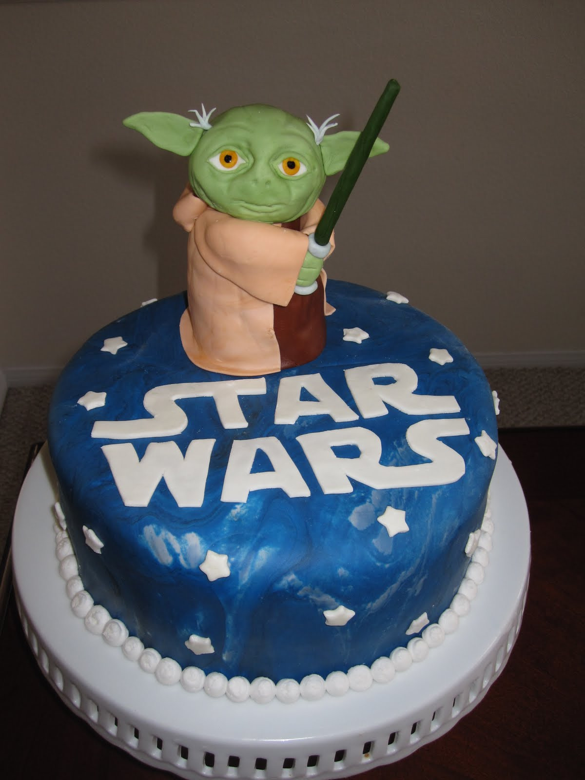Yoda Birthday Cake  Ms Cakes Yoda Star Wars Cake